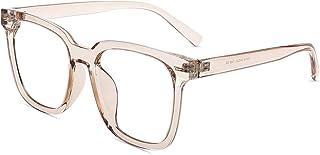 Firmoo Blue Light Blocking Glasses, Anti Eyestrain Anti Headache, Oversize Square Computer Glasses,Bluelight Blocker Eyegl...