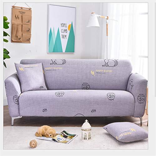 Lege Resilient Anti-slip Sofa Cover, Beschermende Cover Gemeenschappelijke Meubels, Aquarium Patroon