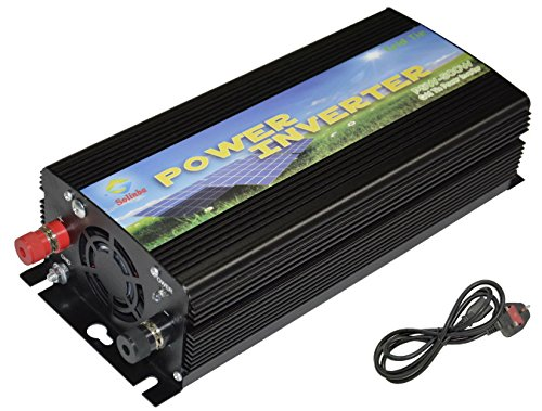 Solinba 500w on Grid Tie Pure Sine Wave Inverter Solar DC11v-28v to AC190-260v for 12v Solar system