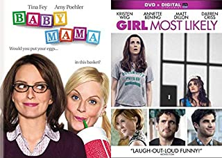 Funniest Laddies From Saturday Night Live: Baby Mama & Girl Most Likely (2 DVD Comedy Pack) Tina Fey Amy Poehler Kristen Wiig