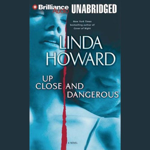 Up Close and Dangerous audiobook cover art