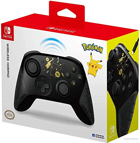 Nintendo Switch Wireless Horipad – Pokémon: Pikachu schwarz & Gold [