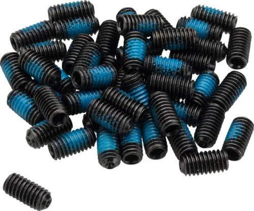 YLS Bike Parts Ersatz Pins für DH FR Pedale - M4-50 Stück - 8mm - mit Schraubensicherung