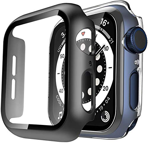 Funda para Apple i Watch Series 6 5 4 3 2 1 SE iWatch 38mm 40mm 42mm 44mm 38 40 42 44mm Bumper Case Protector de pantalla Accesorios