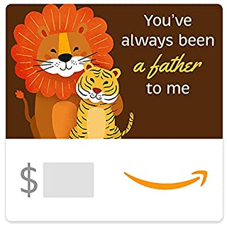 Amazon eGift Card - Step Father Lion & Tiger Cub (B094QLBMLH)   Amazon price tracker / tracking, Amazon price history charts, Amazon price watches, Amazon price drop alerts