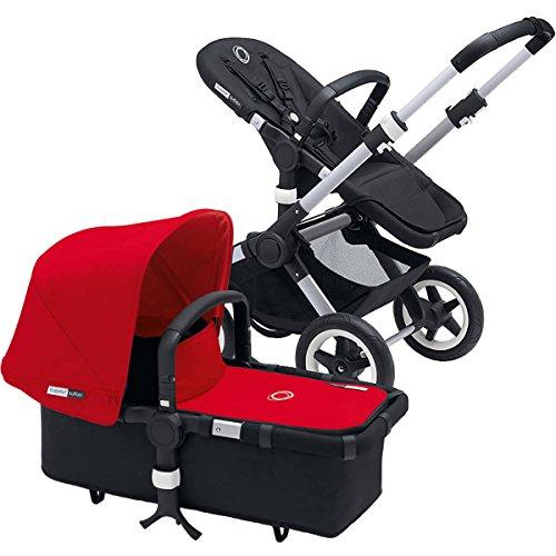 Why Choose Bugaboo 2016 Buffalo Complete Stroller, Aluminium/Red