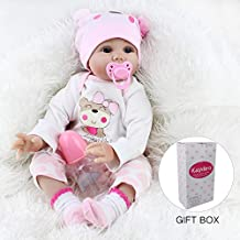 Kaydora Reborn Baby Doll, 22 inch Weighted Baby Lifelike Reborn Doll Girl, Lucy