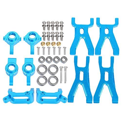 Bigking Kit de Brazo de suspensión para Coche RC, Kit de Repuesto de actualización de Metal para Coche RC, Accesorio de Brazo de suspensión 1/18 para WL_Toys A959/A969