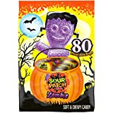 Sour Patch Kids Zombie Halloween Trick or Treat Size Candy Packages, sour 80 Count