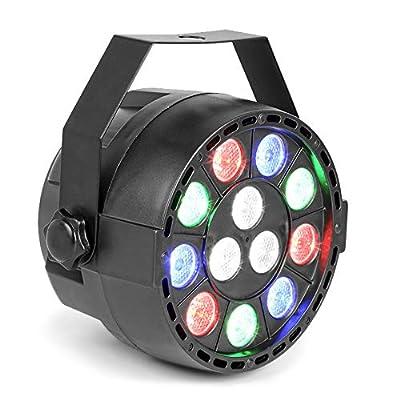 Max Partypar Rgbw 12 X 1 Watt Quad Colour Led Dmx Mini Par Can Light