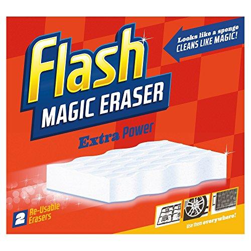 Flash Borrador mágico Hogar Limpiador extra de potencia 2 por paquete