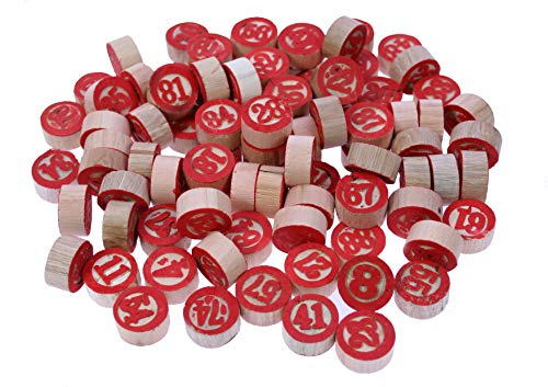 Bois Bingo Chips , 1 - 90