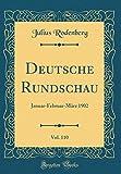 Deutsche Rundschau, Vol. 110: Januar-Februar-März 1902 (Classic Reprint)