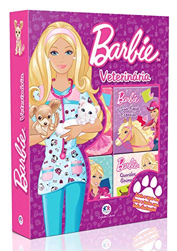 Barbie Veterinária - Caixa com Janela com 6 Volumes