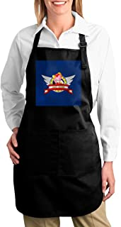 ANZIKEJI Sonic The Hedgehog Amy Rose Banner Heavy Duty Canvas Work Apron,Tool Pockets, Back Straps Adjustable