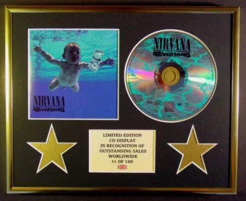 Nirvana/CD Display/édition limitée/COA/Nevermind.