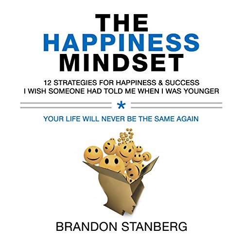 The Happiness Mindset audiobook cover art