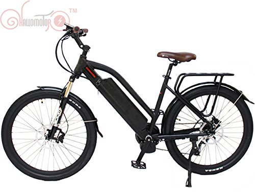 ConhisMotor 48V 350W 500W Torque Sensor Mid-Drive Motor CITY Electric Bike with 48V 12.5AH Lithium Ion Battery
