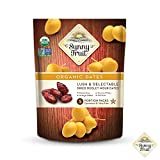 ORGANIC Pitted Dried Dates - Sunny Fruit - (5) 1.76oz Portion Packs per Bag | Purely Dates - NO Added Sugars, Sulfurs or Preservatives | NON-GMO, VEGAN, HALAL & KOSHER