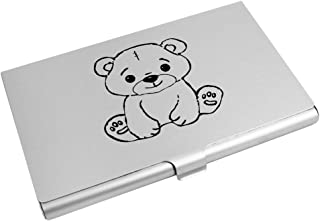 Azeeda 'Cute Teddy Bear' Business Card Holder / Credit Card Wallet (CH00011489)