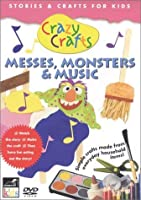 Crazy Crafts: Messes Monsters & Music [DVD] [Import]