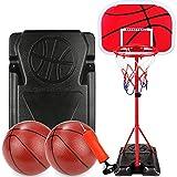 MYYINGELE Kids Basketball Back Board Stand Hoop, Sport Basketball 85-200 Height Basketball Hoop Set Juego de Interior y Exterior para Regalo de niños