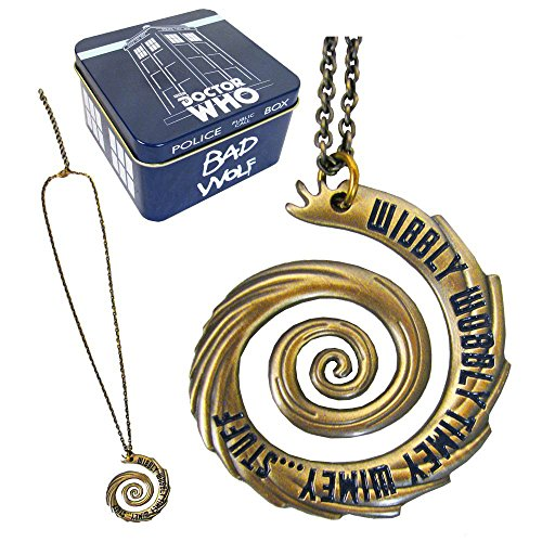 Doctor Who Halskette mit Anhänger Wibbly Wobbly EE Exclusive