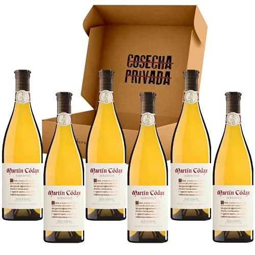 Martín Códax - Envío Gratis 24h - Albariño - 6 Botellas - Vino Blanco - Vino Regalo - Enviado y Seleccionado por Cosecha Privada