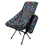 miuse Portable Camping Chair - Compact Ultralight Folding Backpacking Chairs for Outdoor Camp