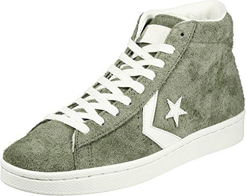 Converse Chucks High PRO Leather MID 157690C Grün Medium Olive, Schuhgröße:45