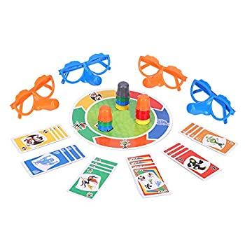 Party Games Fibber Board Game Liar Toy with Funny Glasses and Cards Growing Nose Family Games for Kids Adults Family
