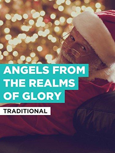 Angels From The Realms Of Glory im Stil von
