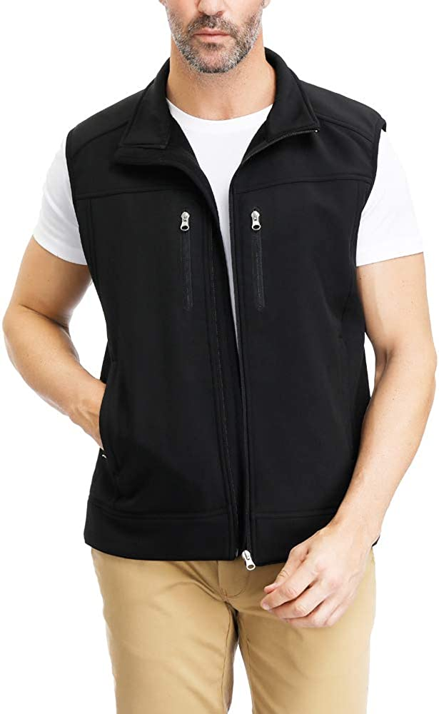 All items in the store Men's Windproof Fleece Miami Mall Lined Jacket Sleeveless Full Sof Zippered