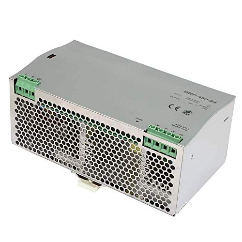 KEKEYANG Din Rail Power Supply, AC/DC Switching Power Supply 24V DRP-480-24 480W Din-Rail Power Supply Module Controller Board
