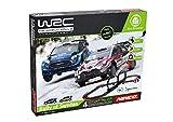 Ninco WRC- Rally Sweden Wireless Slot WRC mandos inalámbricos, 2 Coches con luz led, Pistas Super looping y óptimas Curvas, CREA 4 Distintos circuitos para tu desafío, Multicolor, Talla Única (91013)