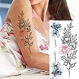 3ps-Tattoo tatuaje del cuerpo tatuaje animal elefante perro pequeño tatuaje muñeca verano 3ps-