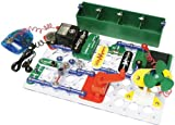 Children's Alternative Energy Circuit Board Building Kit - Build Over 125 Projects!