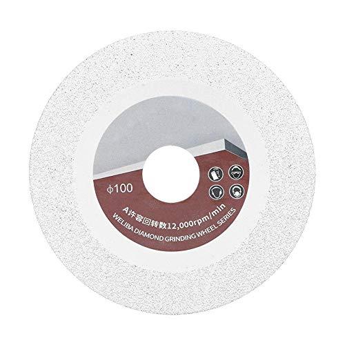 100mm 60 Disco diamantato per brasatura a maglie Disco abrasivo Disco da taglio Circolare Lama per sega per piastrelle di ceramica Pietra di marmo