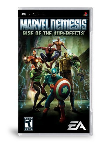 Marvel Nemesis Rise of the Imperfects - Sony PSP by Electronic Arts