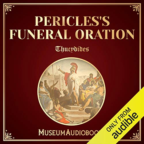 Couverture de Pericles's Funeral Oration