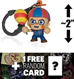 Five Nights at Freddy's Balloon Boy: ~2' Mini-Figure Hanger + 1 Official FNAF Trading Card Bundle (098576)