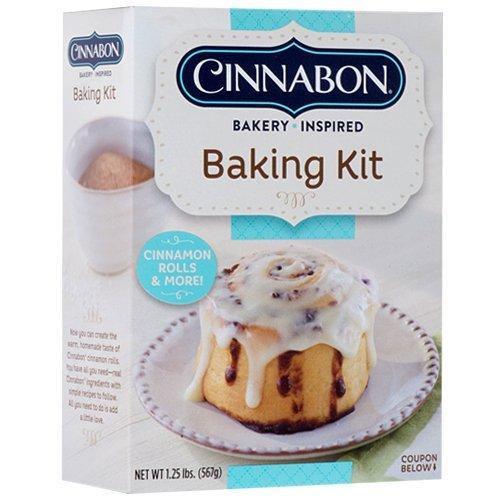 Cinnabon At-Home Baking Kit- Makes Cinnamon Rolls & More 1.25 lbs. (2 Boxes)