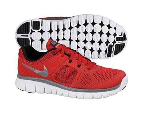 Nike Flex Run 2014 Boys Running Shoe, Red, US6