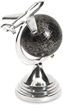 "Imax 89417 Hadwin Small Airplane Globe White, 9.75"" H"