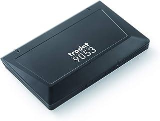 Trodat 9053A Noir - Encreur pour Tampons - 160 x 90 mm