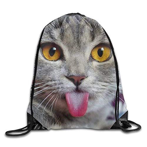 Drempad Tunnelzug Rucksäcke, Drawstring Bag CUW BBCUW Novelty Drawstring Backpack Workout Sackpack for Men &