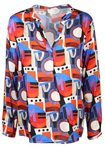 Milano Italy Damen Bluse Größe 36 EU Mehrfarbig (bunt)