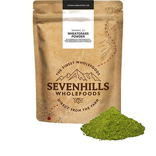 Sevenhills Wholefoods Polvere D'Erba Di Grano Bio Dall'Europa 1kg