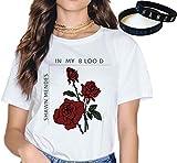 Photo de Shawn Mendes T-Shirt Bracelet Cadeau Concert Tee La Musique Mode Bracelet Impression Dessin Animé In My Blood De Plein Air/B/S