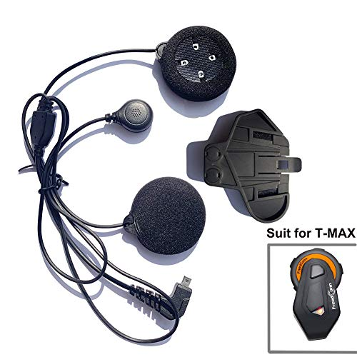 Best Prices! FreedConn Microphone Headphone Soft Cable Headset & Clip Accessory for T-MAX Series Mot...